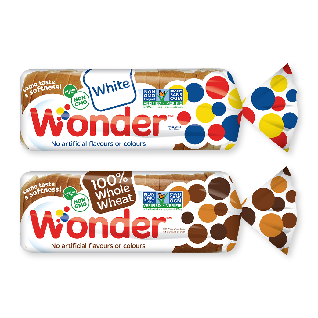 Non-GMO Wonder® sliced bread BOGO
