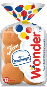 Wonder® White Hamburger Buns 12pk