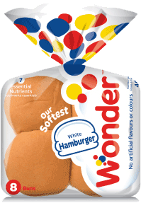 Wonder® White Hamburger Buns 8pk