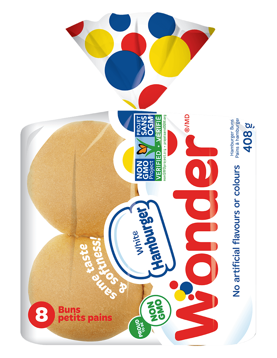 Wonder® White Hamburger Buns 8
