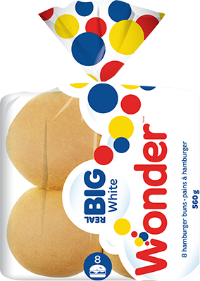 Wonder® Real Big Hamburger Buns 8pk