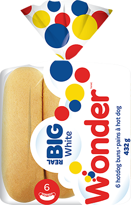 Wonder® Real Big Hotdog 6pk