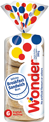 Wonder® White English Muffins 6pk