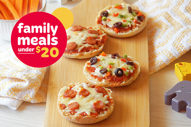 2 Wonder® English Muffin Pizzas